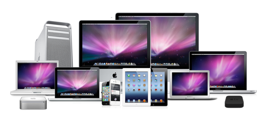 ipad, imac, laptops